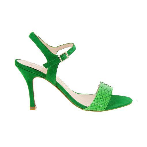 Divina, piton y ante verde esmeralda, 8cm (1)